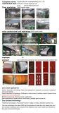 Ce de oscilación de alta calidad de la puerta de acero de seguridad de la puerta de entrada principal (SH-025)