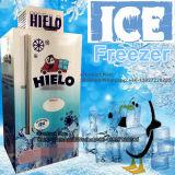 Merchandiser del ghiaccio con il singolo portello di vetro