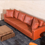 Type de bureau montage en cuir de sofa de salon d'unité centrale pour le refuge