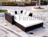 Ensemble de meubles en marbre / rotin pour jardin - Meubles extérieurs (LN-044)