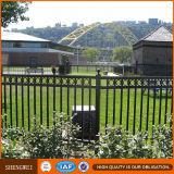 Carril del acero del protector de seguridad del jardín