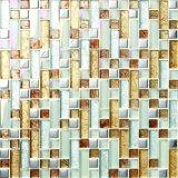 Mosaico caliente del vidrio cristalino del cuadrado del precio de venta para el azulejo de la pared y de suelo