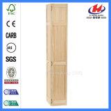 Portelli di piegatura incurvati di legno di legno interni della doppia oscillazione