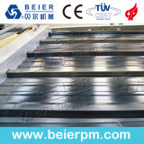 El PVC+PMMA/ ASA techo vidriado en color teja de la cresta de la línea de producción de plástico