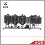 직업적인 원유 정제 기계 플랜트