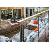 Villa Maison escalier/balcon clôture balustrade de câble en acier inoxydable