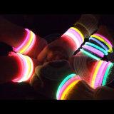 Colorant lumineux de phosphore de poudre photoluminescente de couleur verte de Blingbling pour l'impression de peinture de DIY, lueur en poussière foncée de poudre