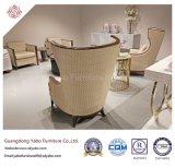 Mobília moderna do hotel com a cadeira de asa da sala de visitas (YB-D-8)