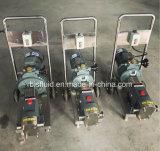 위생 위생 로브 펌프 또는 회전자 고정자 펌프