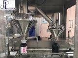 O eixo helicoidal de alta velocidade que mede pode máquina de enchimento