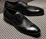 Mann-Kleid-Schuh-Leder-Fußbekleidung Soem-Service-Oxford-Mann-Schuhe