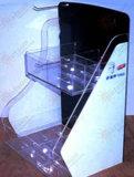 Personnaliser l'acrylique stand marchand à deux vitesses