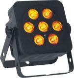 Indicatore luminoso piano dell'interno di PARITÀ di prezzi di fabbrica 7X10W RGBW 4in1 LED per la fase