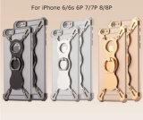 iPhone аргументы за телефона кольца металла Bumper 6 6s 7 7 плюс 8 8plus, крышка случая металла на iPhone 6/7/8 с держателем кольца