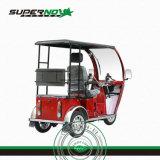 유리제 정면을%s 가진 125cc 공기에 의하여 냉각되는 불리한 세발자전거