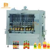 Proman 자동적인 병 모터 오일, 샴푸, 조절기, 세제, 잼, 케첩, 식초, 음료 병에 넣는 레테르를 붙이기를 위한 액체 충전물 기계