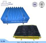 Hohe Mangan Terex Jc2236 Kiefer-Zerkleinerungsmaschine zerteilt örtlich festgelegtes/Schwingen/bewegliche Kiefer-Platte