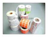 Escrituras de la etiqueta directas la termal del fabricante, escrituras de la etiqueta de la etiqueta engomada del rodillo