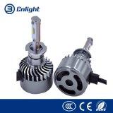 Доставки DHL фары автомобиля 72W 7600lm светодиодный свет лампы H1, H3, H7 9005 9006 H11, H4, H13 модель 9004 9007 автомобилей фары 6000K