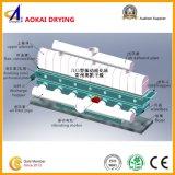 Secadora de la base flúida de la vibración para el sulfato de sodio anhidro