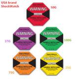 Purpurroter Vorsichts-Schlag-warnender Kennsatz