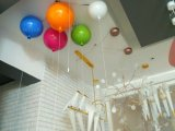 De moderne Decoratieve Lamp van het Plafond van de Ballon van de Verlichting van de Kroonluchter van de Baby
