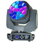 새로운 광속 세척 반점 3in1 LED 꿀벌 눈 이동하는 헤드