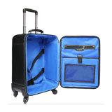 Bagagem do couro da mala de viagem do couro do negócio da alta qualidade