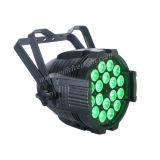 18PCS 6in1 RGBWA kan het UV LEIDENE Slanke Vlakke PARI aansteken