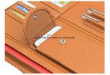 Dossier du bureau A4 Padfolio Portefeuille en cuir de PU