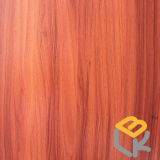 家具のためのクルミの木製の穀物の装飾的なペーパーか中国の製造業者からのドア