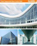 외부 디자인 제작 및 기술설계 점은 유리제 외벽을 지원했다