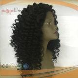 完全なレースのバージンの毛の深い巻き毛のかつら(PPGL-0623)