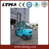 Piccolo carrello elevatore a forcale manuale un carrello elevatore diesel da 3.5 tonnellate con altezza di sollevamento di 6m