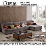 Brown-Gewebe-Sofa-Hotel-Wohnzimmer-moderne Schlafzimmer-Möbel G7606A