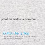 Protecteur 100% confortable de la meilleure qualité de matelas de coton