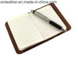 Cuaderno de Bolsillo de piel recargable mini libro Composición