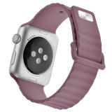 für Apple-Uhrenarmband-Brücke Silikon-Band für Apple-Uhrenarmband 38mm/42mm