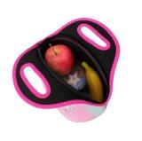 女性の子供のネオプレンのユニコーンの食糧ピクニッククーラーのボックスによって絶縁されるトートバックの貯蔵容器のための携帯用熱昼食袋