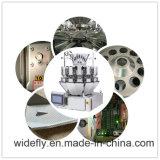 Pesador automático de la combinación del acero inoxidable del hoyuelo para la empaquetadora
