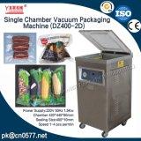Einzelner Raum-vakuumverpackende Maschine für Nahrung (DZ400-2D)