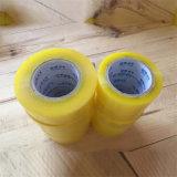 Clear BOPP Cinta de embalaje BOPP cinta adhesiva Jumbo Roll OPP de cinta para sellado de cajas de cartón