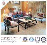 Hotel fino mobiliário com sala de estar cadeira de madeira (YB-O-23)