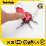 Красный цвет цепочки ключей с помощью ножа и светодиодный индикатор
