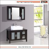 Самомоднейший пол гостиницы - установленная тщета мебели ванной комнаты твердой древесины конструкции водоустойчивая комбинированная