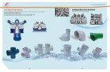 Molde de la instalación de tuberías del cable de la electricidad, varias instalaciones de tuberías construidas del PVC de la en-Pared
