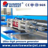 Непосредственно на заводе питания гентри Waterjet режущей машины струей воды фрезы