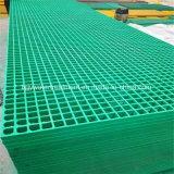 El FRP GRP Rejilla de fibra de vidrio moldeado con Anti-UV/ Fire-Retardant