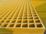 Reja moldeada fibra de vidrio/acoplamiento cuadrado 38X38X38/FRP, rejas de GRP