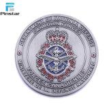 Fábrica de Kunshan antigüedades artesanías de metal barato Euro Monedas personalizado